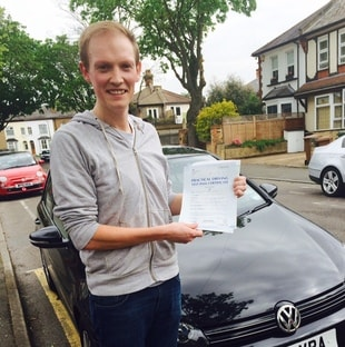 Driving Test Pass in Battersea